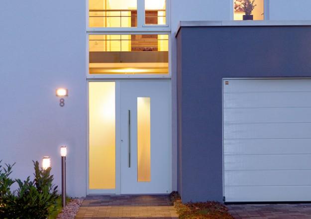 Witte voordeur