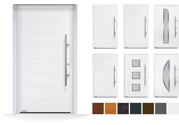 voordeur met meerdere kleurenmogelijkheden